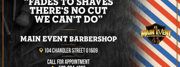 Welcome to Main Event Barbershop in Worcester MA